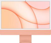 """Apple iMac 24"""" (2021) 8GB/512GB Apple M1 met  8 core GPU Oranje AZERTY"""