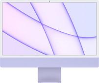 "Apple iMac 24"" (2021) 8GB/512GB Apple M1 met 8 core GPU Paars AZERTY"