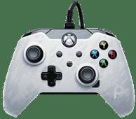 PDP Bedrade Controller Xbox Series X en Xbox One Wit Camo Xbox Series X en Series S controller