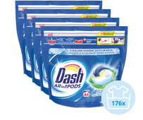 Dash All-in-1 Pods Regular - Halfjaarpakket