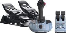 Thrustmaster TCA Officer Pack Airbus Edition + Thrustmaster T-Flight Rudder Pedals