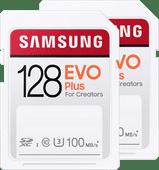 Samsung SD card EVO Plus 128GB Duo Pack