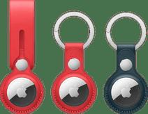 Apple AirTag Sleutelhanger Duo Pack + Leren Hanger
