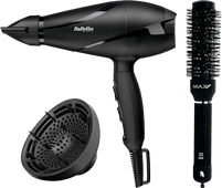 BaByliss 6613DE + Max Pro Ceramic Radial Brush - 32 mm