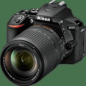 Nikon D5600 + AF-S DX 18-140mm f/3.5-5.6 G ED VR Nikon spiegelreflexcamera's
