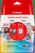 Canon PG-540XL/CL-541XL Photo Value Pack + Canon PP-201 Fotopapier