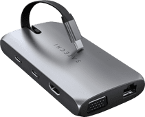 Satechi USB-C On-the-Go Multiport Adapter Space Grey
