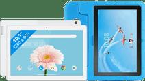 Lenovo Tab M10 2GB 32GB WiFi White + Just in Case Kids Cover Blue