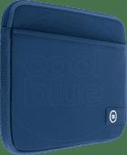 BlueBuilt 17 inch Laptophoes breedte 41 cm - 42 cm  Blauw Laptophoezen voor 17 inch laptops