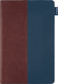 Gecko Covers ColorTwist Easy Click Samsung Galaxy Tab A7 (2020) Book Case Bruin/Blauw