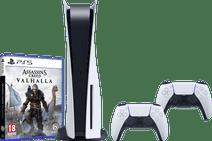 PlayStation 5 + Assassin's Creed Valhalla PS5 + PlayStation 5 DualSense Controller
