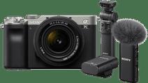 Sony A7C Zilver + 28-60mm f/4-5.6 Vlogkit
