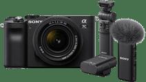 Sony A7C Zwart + 28-60mm f/4-5.6 Vlogkit