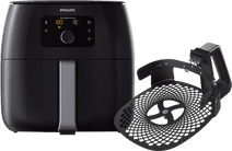 Philips Avance Airfryer XXL HD9650/90 Noir + Kit Pizza