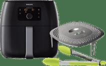 Philips Avance Airfryer XXL HD9650/90 Noir + Kit Snack