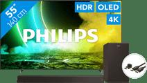 Philips 55OLED705 + Barre de Son + Câble HDMI