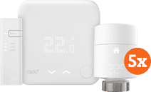 Tado Slimme Thermostaat V3+ startpakket + 5 radiatorknoppen