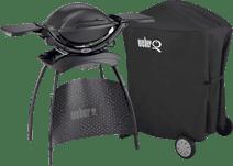 Weber Q1400 met Onderstel + Hoes