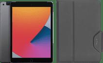 Apple iPad (2020) 10.2 inches 128GB WiFi + 4G Space Gray + Targus VersaVu Book Case Black