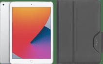Apple iPad (2020) 10.2 inches 128GB WiFi Silver + Targus VersaVu Book Case Black