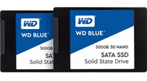 WD Blue 3D NAND 2,5 inch 500GB Duo Pack