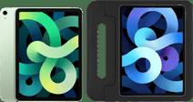 Apple iPad Air (2020) 10.9 inch 256 GB Wifi + 4G Groen + Just in Case Kinderhoes Zwart