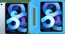 Apple iPad Air 2020 10.9 inch 256 GB Wifi + 4G Hemelsblauw + Just in Case Kinderhoes Blauw