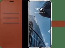 Valenta Gel Skin Samsung Galaxy S20 FE Book Case Leer Bruin