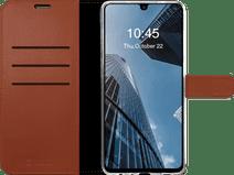 Valenta Gel Skin Samsung Galaxy A32 5G Book Case Leer Bruin