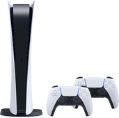 PlayStation 5 Digital Edition + Sony PlayStation 5 DualSense Manette Sans Fil