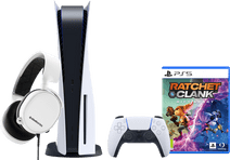 PlayStation 5 + Ratchet & Clank: Rift Apart PS5 + SteelSeries Arctis 3 2019 Wit