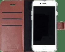 Valenta Gel Skin Apple iPhone SE / 8 / 7 Book Case Leer Bruin