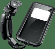 Lampa Opti-Pole Telefoonhouder Scooter/Motor Achteruitkijkspiegel + Waterdicht Hoesje