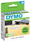 DYMO Authentieke Kleine Multifunctionele Labels (19 mm x 51 mm)