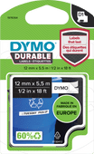 DYMO LW Duurzame D1 Zwart-Wit Label (12 mm x 5,5 m)