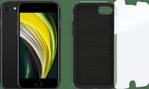 Apple iPhone SE 64GB Zwart + Beschermingspakket