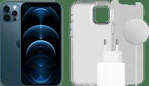 Apple iPhone 12 Pro 128 Go Bleu Pacifique + Pack d'Accessoires Complet
