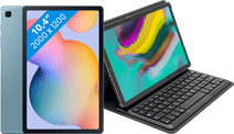 Samsung Galaxy Tab S6 Lite 128 Go Wi-Fi Bleu + Targus Étui Clavier Noir