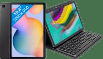 Samsung Galaxy Tab S6 Lite 128 Go Wi-Fi Gris + Targus Étui Clavier Noir