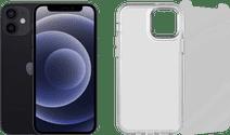 Apple iPhone 12 128GB Zwart + Beschermingspakket