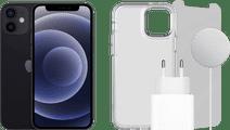Apple iPhone 12 128GB Zwart + Accessoirepakket Compleet