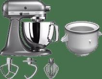 KitchenAid Artisan Mixer 5KSM125 Contourzilver  + Roomijsmaker