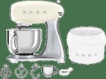 SMEG SMF02CREU Crème + Sorbetière