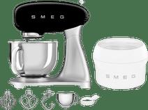 SMEG SMF02BLEU Noir + Sorbetière