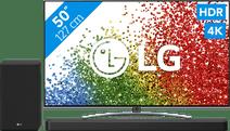 LG 50NANO886PB (2021) + Soundbar
