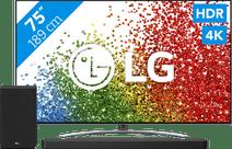 LG 75NANO886PB (2021) + Soundbar