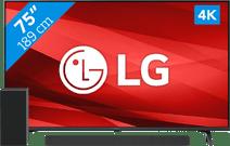 LG 75UP77006LB (2021) + Soundbar