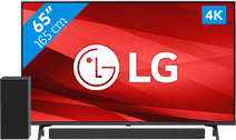 LG 65UP77006LB (2021) + Soundbar