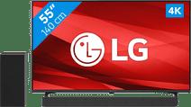 LG 55P77006LB (2021) + Soundbar