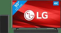 LG 50UP77006LB (2021) + Soundbar